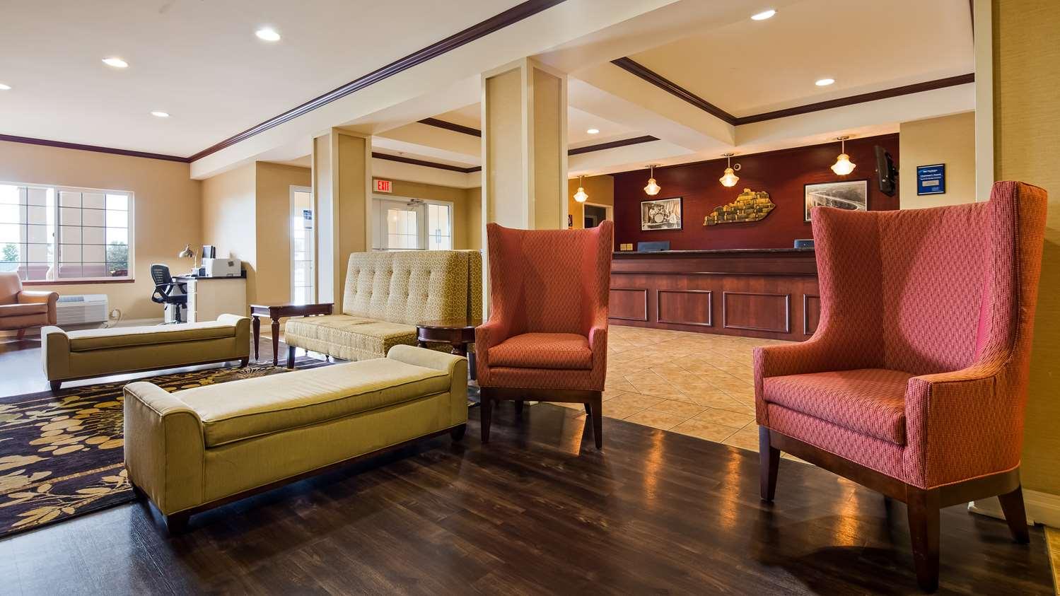 Lobby - Best Western Inn Lawrenceburg