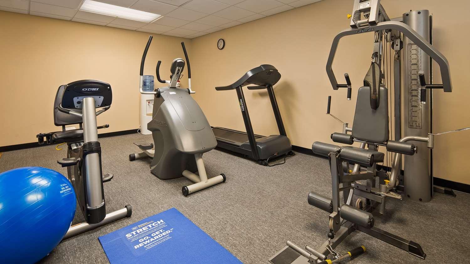 Fitness/ Exercise Room - Best Western Inn Lawrenceburg