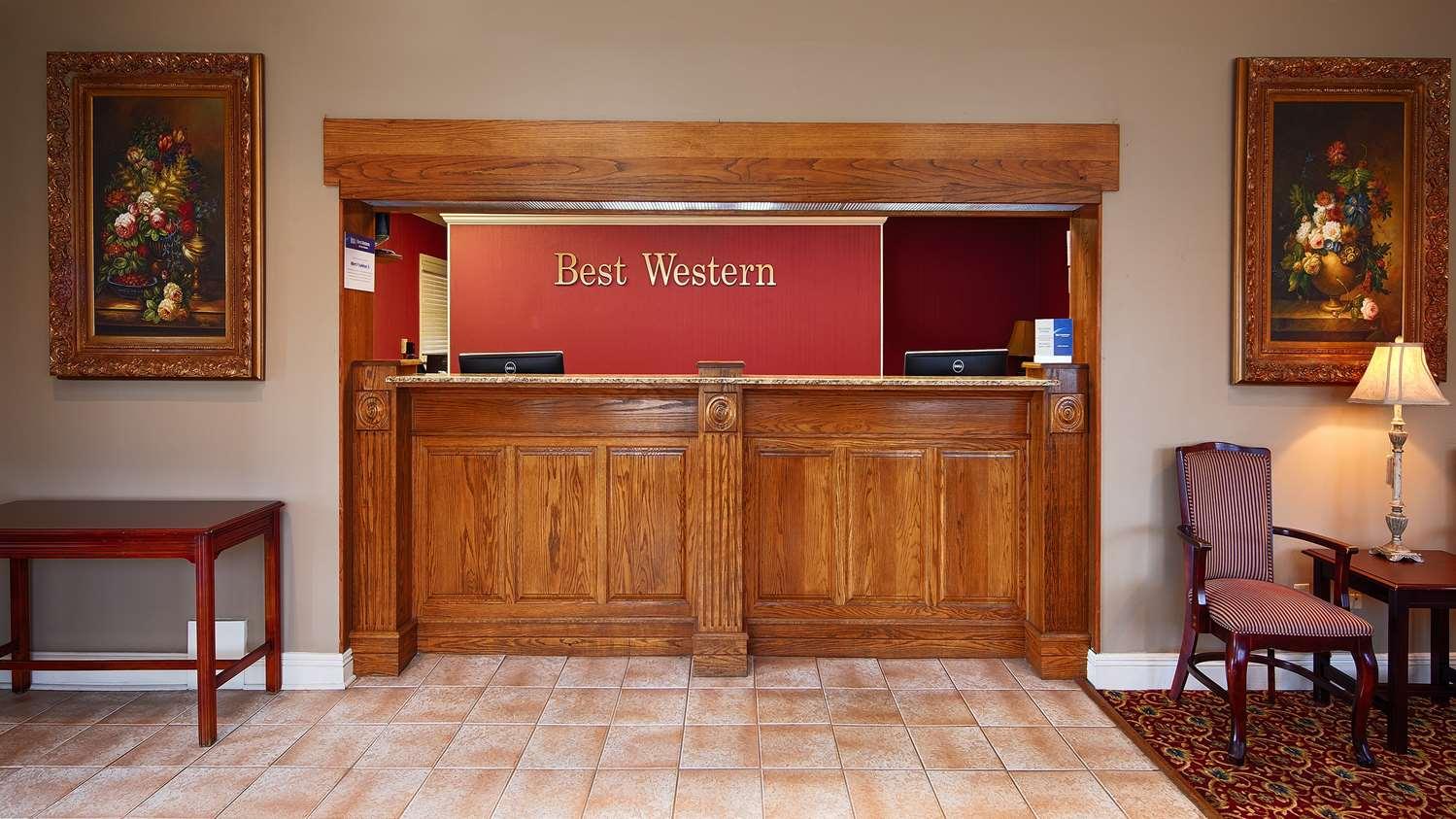 Lobby - Best Western Forest Inn Franklin