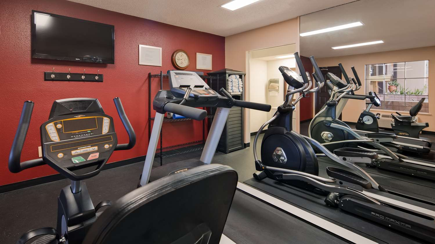 Fitness/ Exercise Room - Best Western Alexandria Inn & Suites