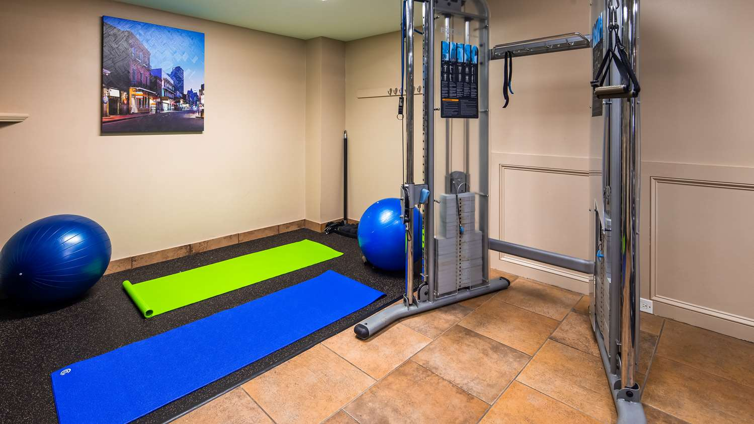 Fitness/ Exercise Room - Best Western Plus Westbank Hotel Harvey