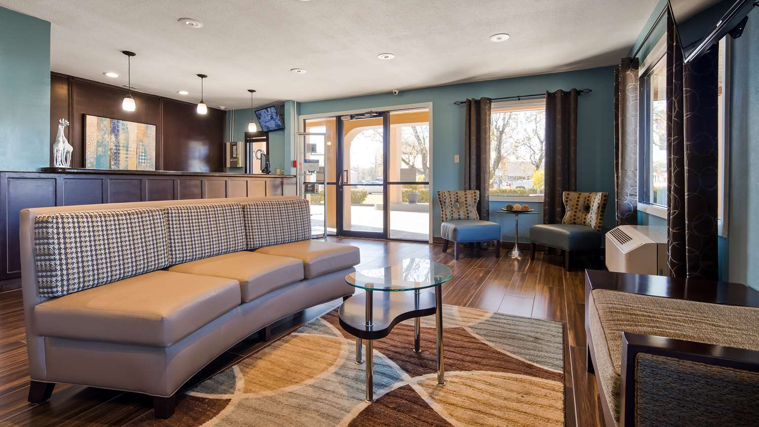 Lobby - Best Western Motel Eunice