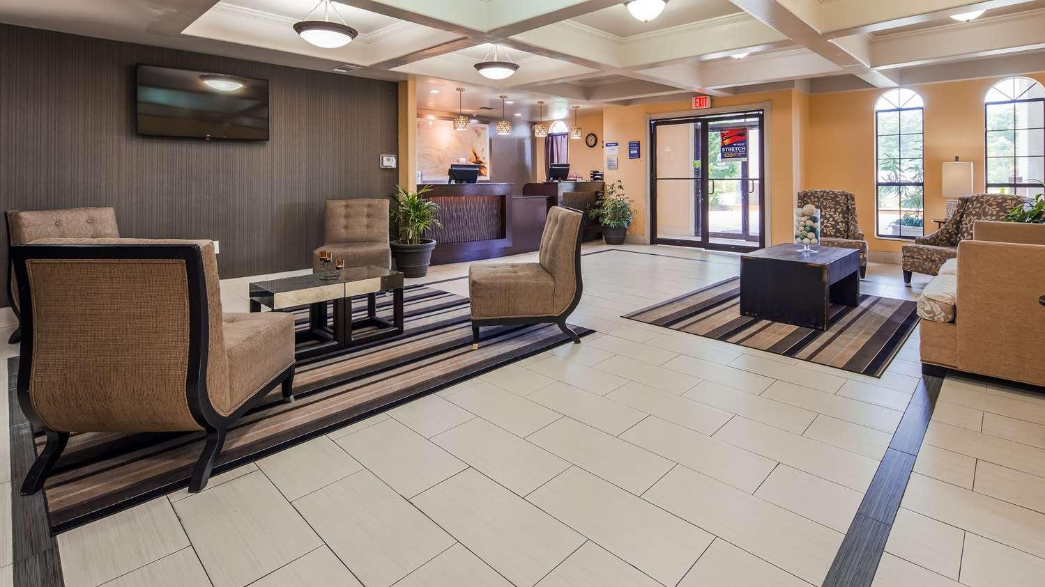 Lobby - Best Western LaPlace Inn