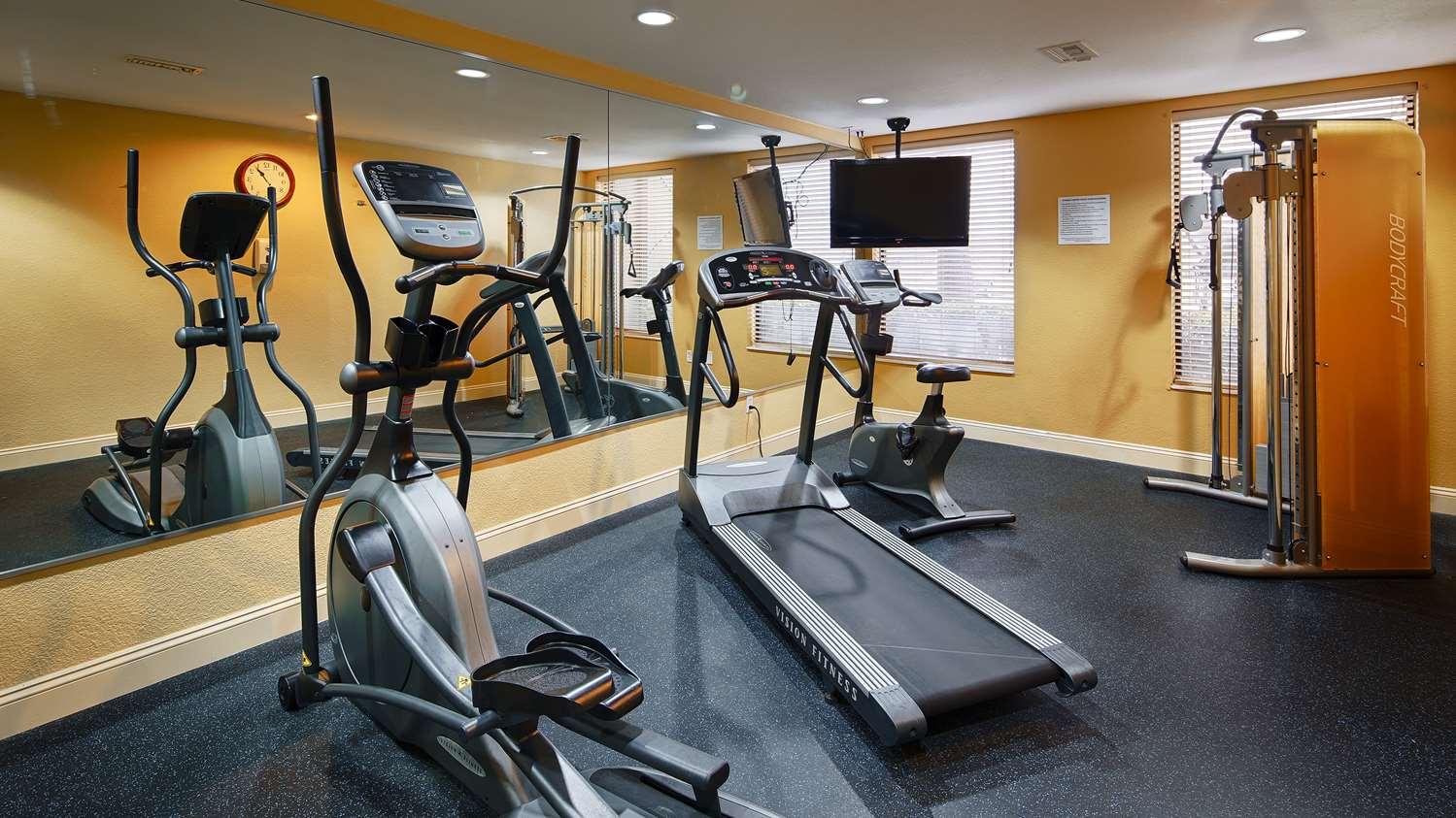 Fitness/ Exercise Room - Best Western Plus Inn Gray