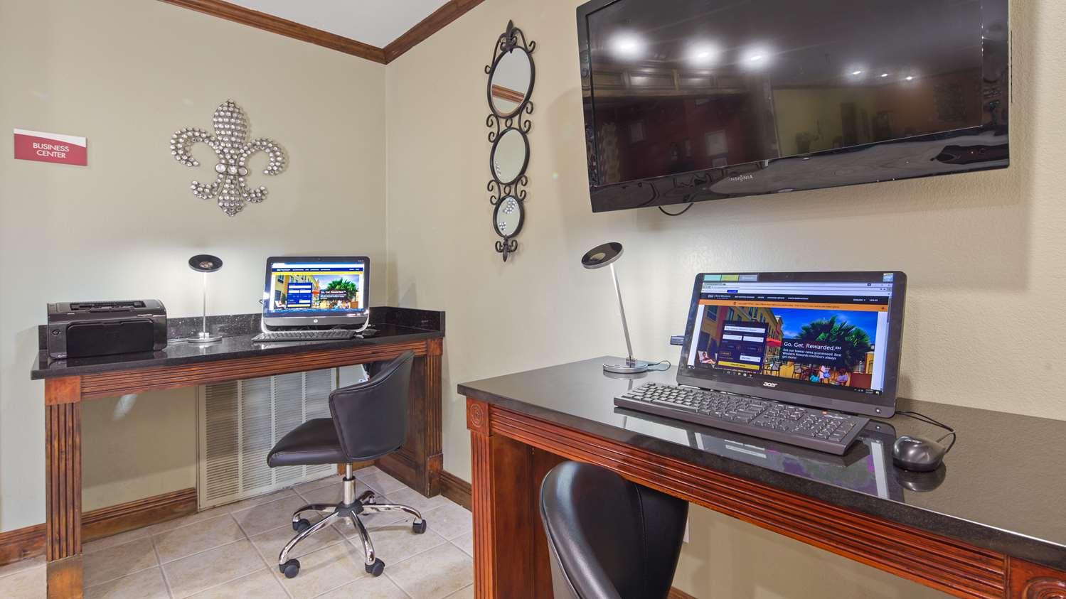 Conference Area - Best Western Bayou Inn Westwego