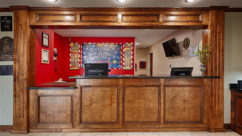 Lobby - Best Western Bayou Inn Westwego