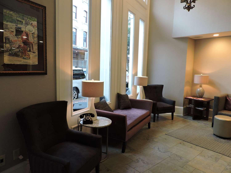Lobby - Best Western Plus St Christopher Inn New Orleans