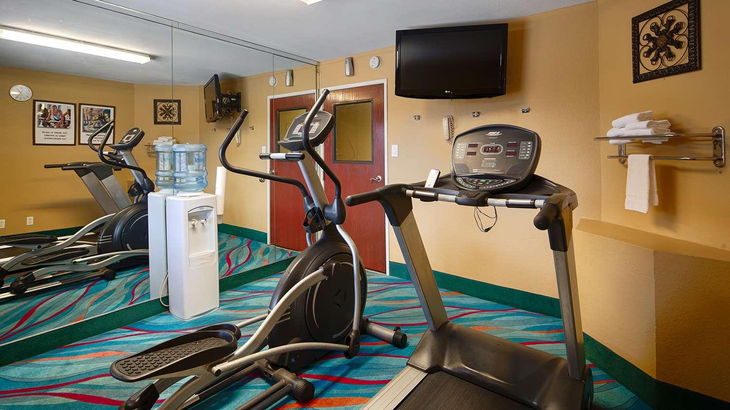 Fitness/ Exercise Room - Best Western Inn Zachary