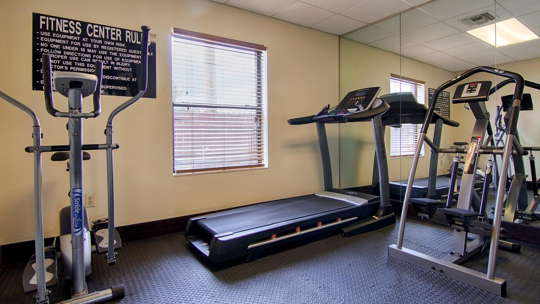 Fitness/ Exercise Room - Best Western Rayne Inn