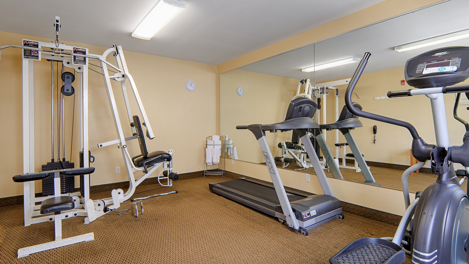 Fitness/ Exercise Room - Best Western Isabelle Court Hotel Galliano