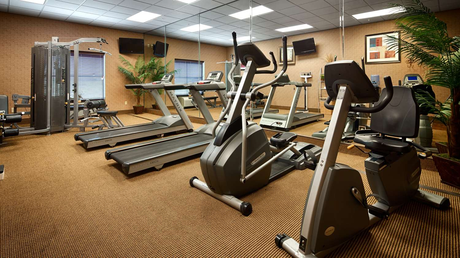 Fitness/ Exercise Room - Best Western St Francisville Hotel