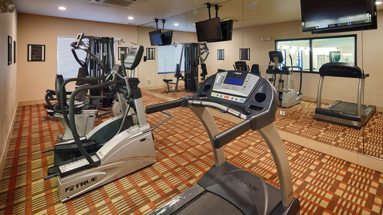 Fitness/ Exercise Room - Best Western Plus Desoto Inn & Suites Mansfield
