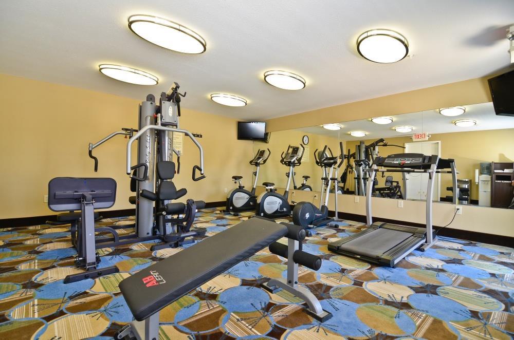 Fitness/ Exercise Room - Best Western Lafayette Inn