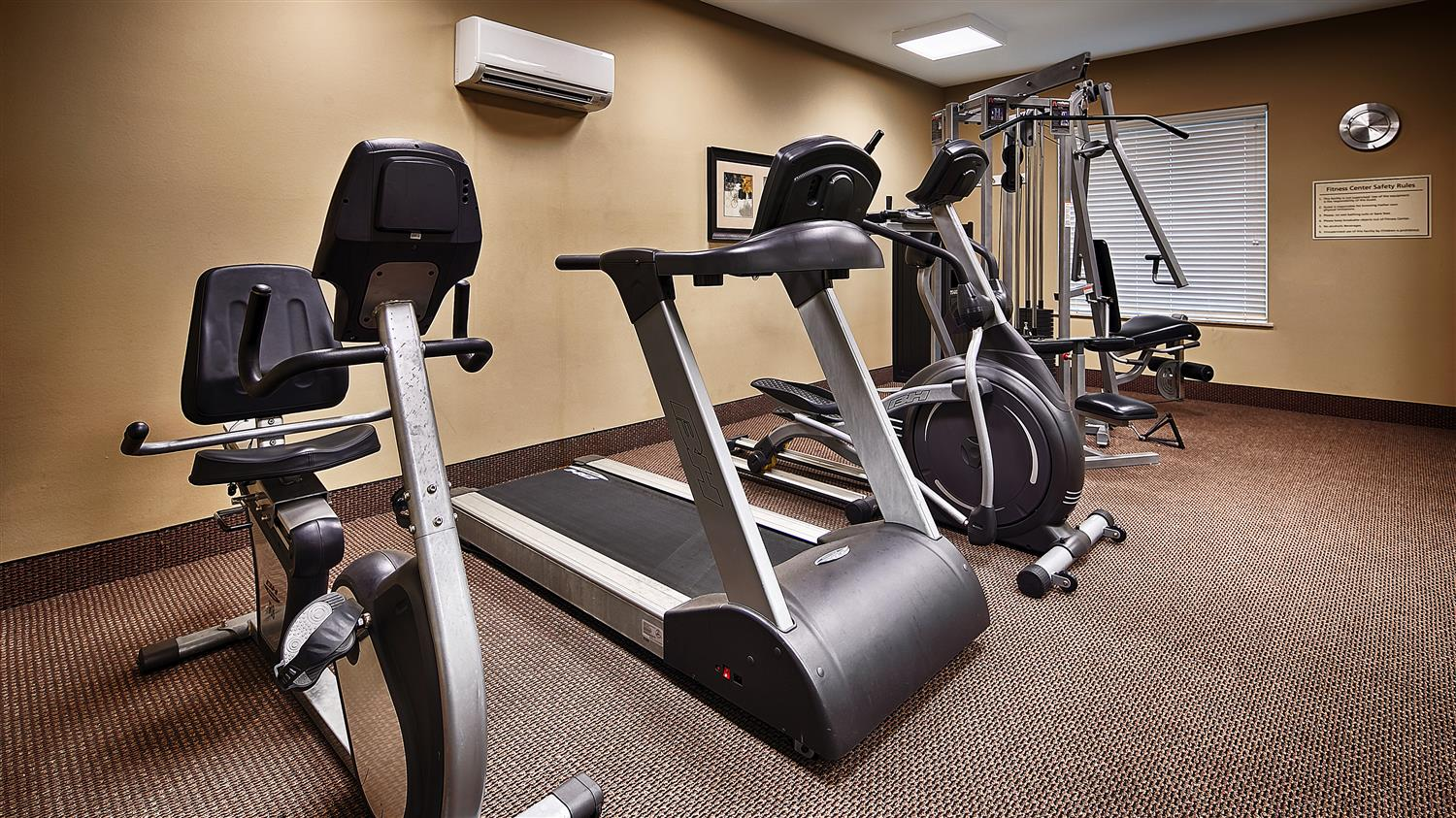 Fitness/ Exercise Room - Best Western Plus Chalmette Hotel