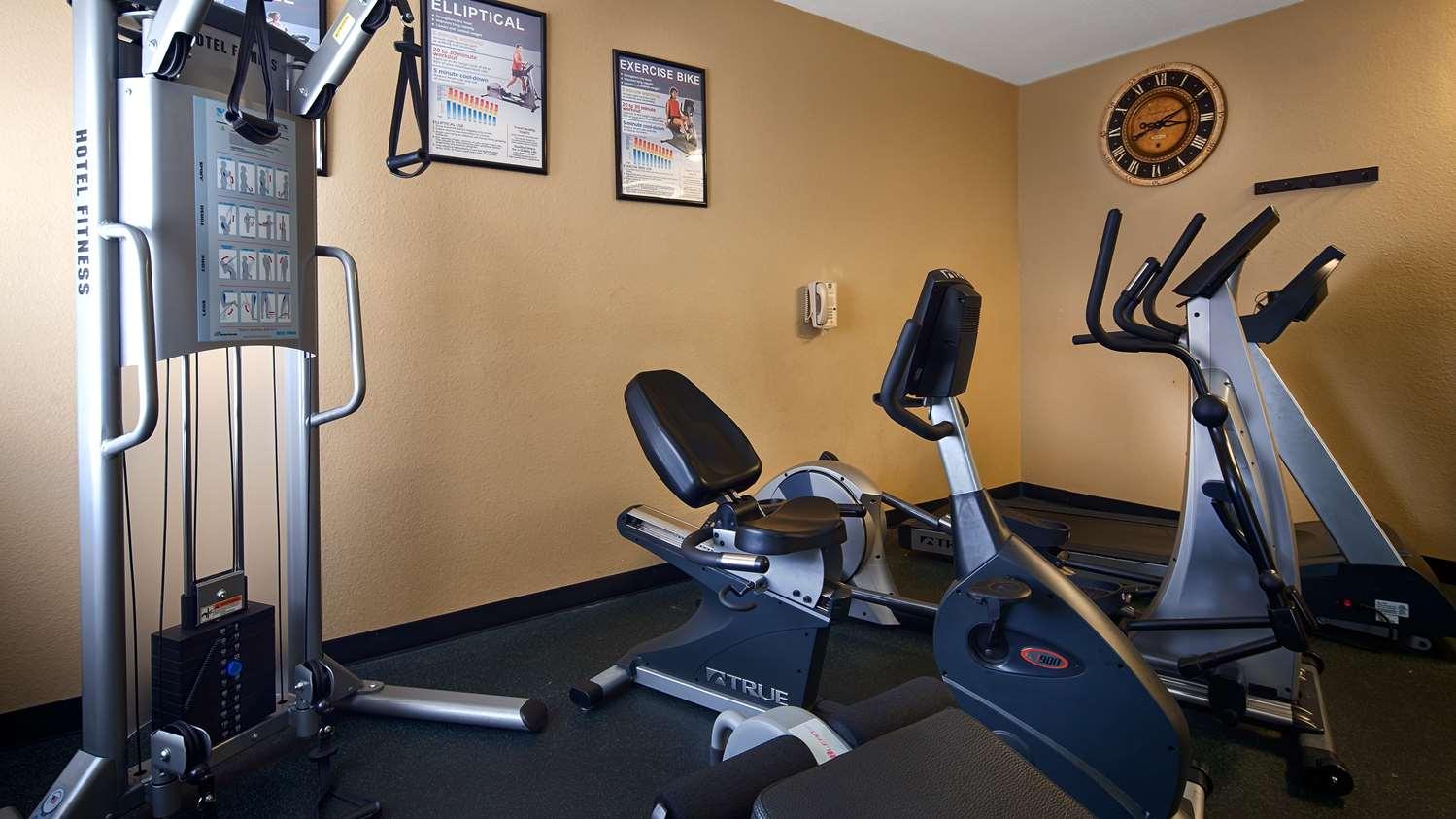 Fitness/ Exercise Room - Best Western Oakdale Inn