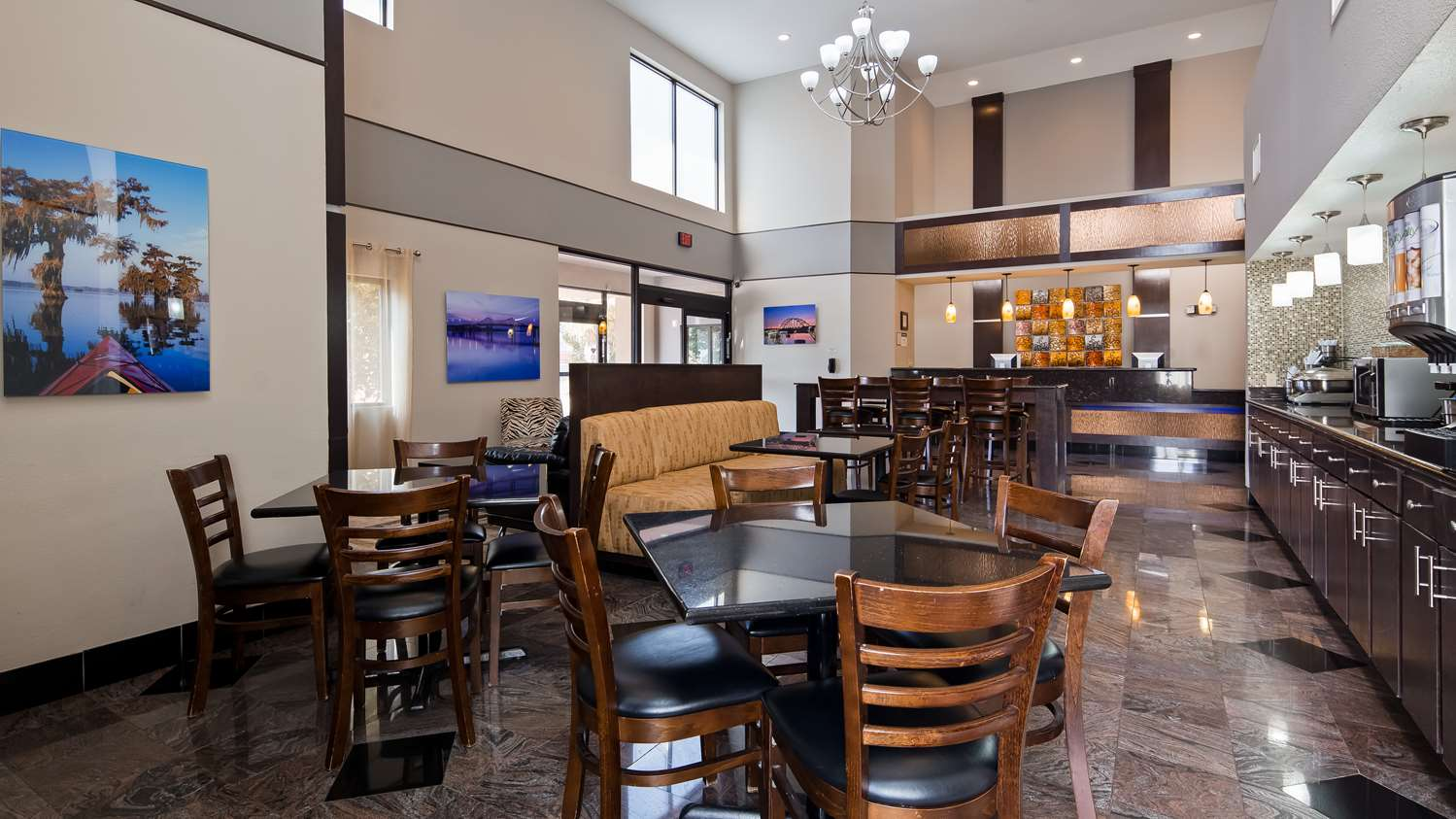 Restaurant - Best Western Bayou Inn Lake Charles