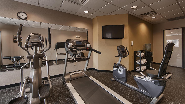 Fitness/ Exercise Room - Best Western Bayou Inn Lake Charles