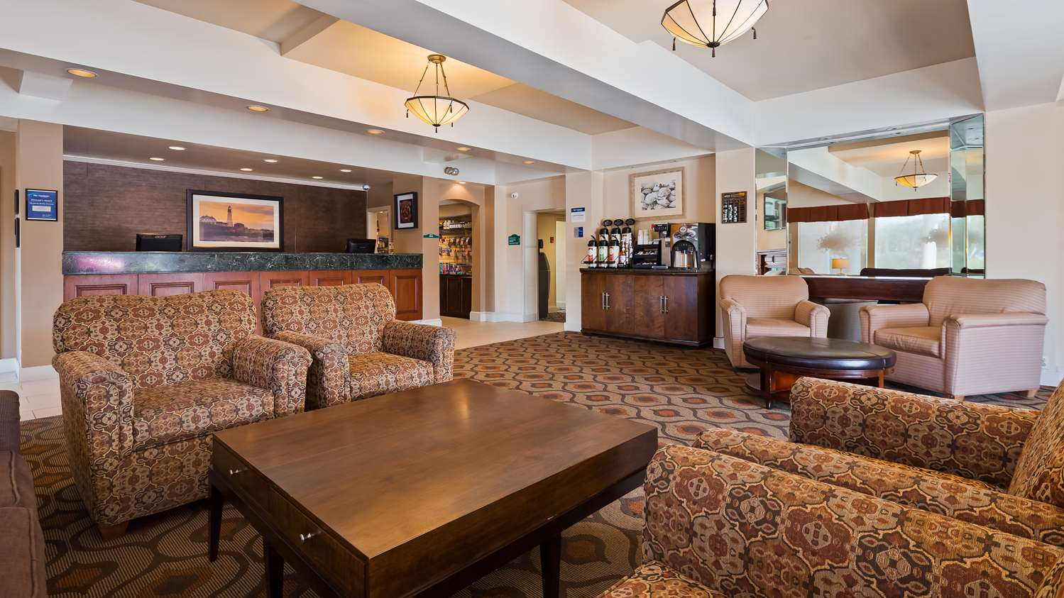 Lobby - Best Western Merry Manor Inn South Portland