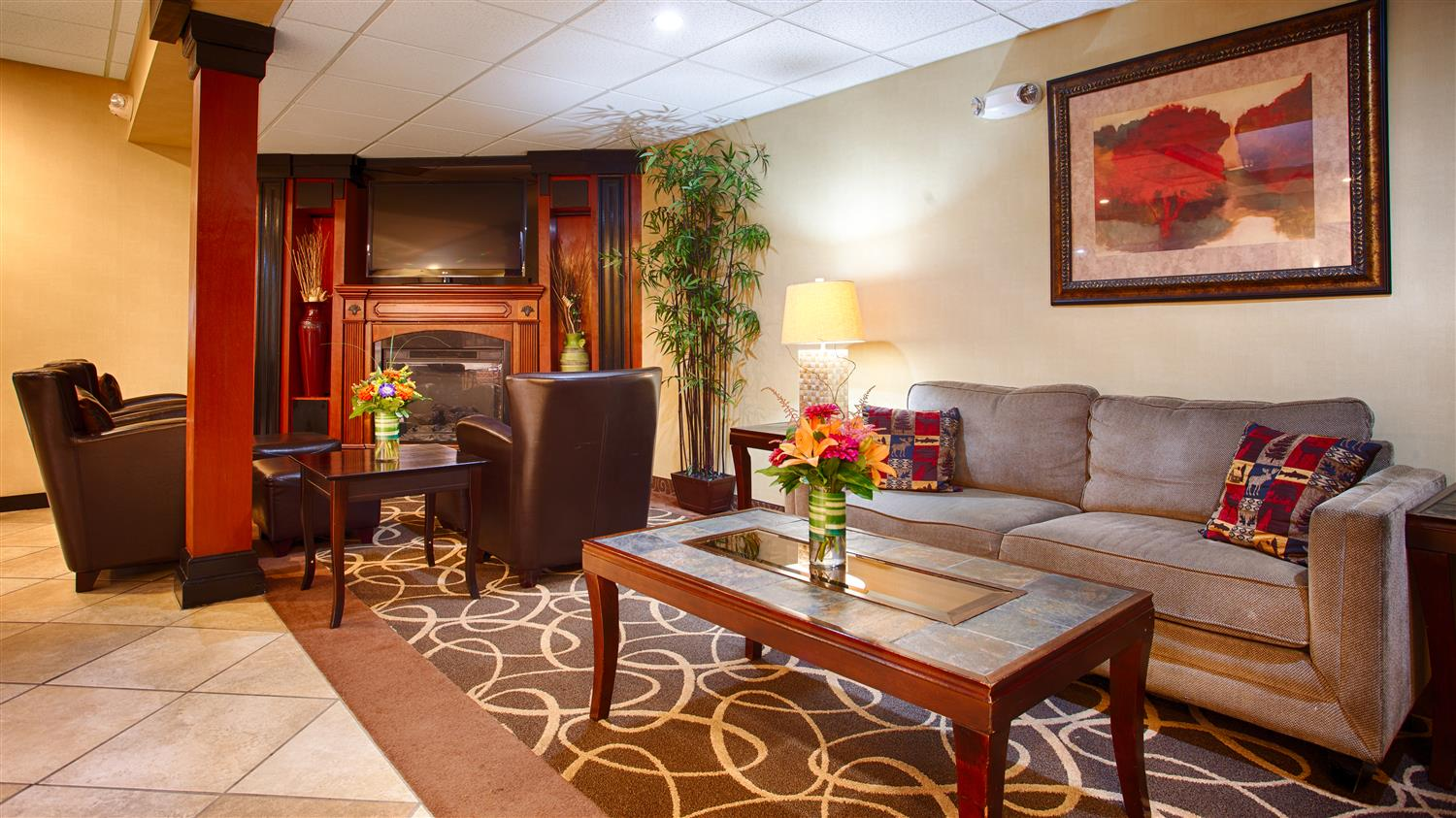 Lobby - Best Western Plus Augusta Civic Center Inn