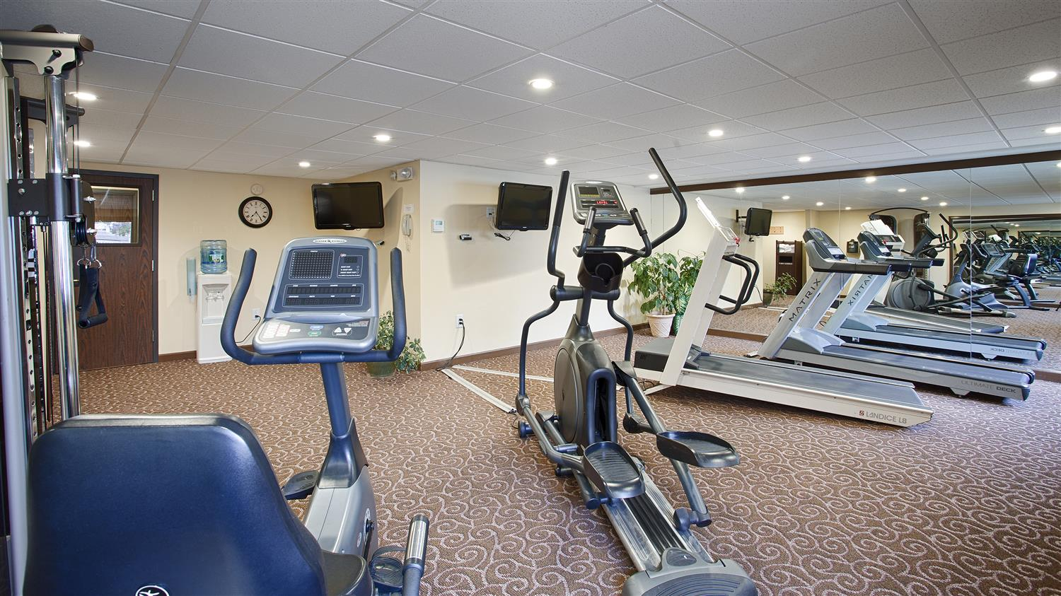 Fitness/ Exercise Room - Best Western Plus Augusta Civic Center Inn