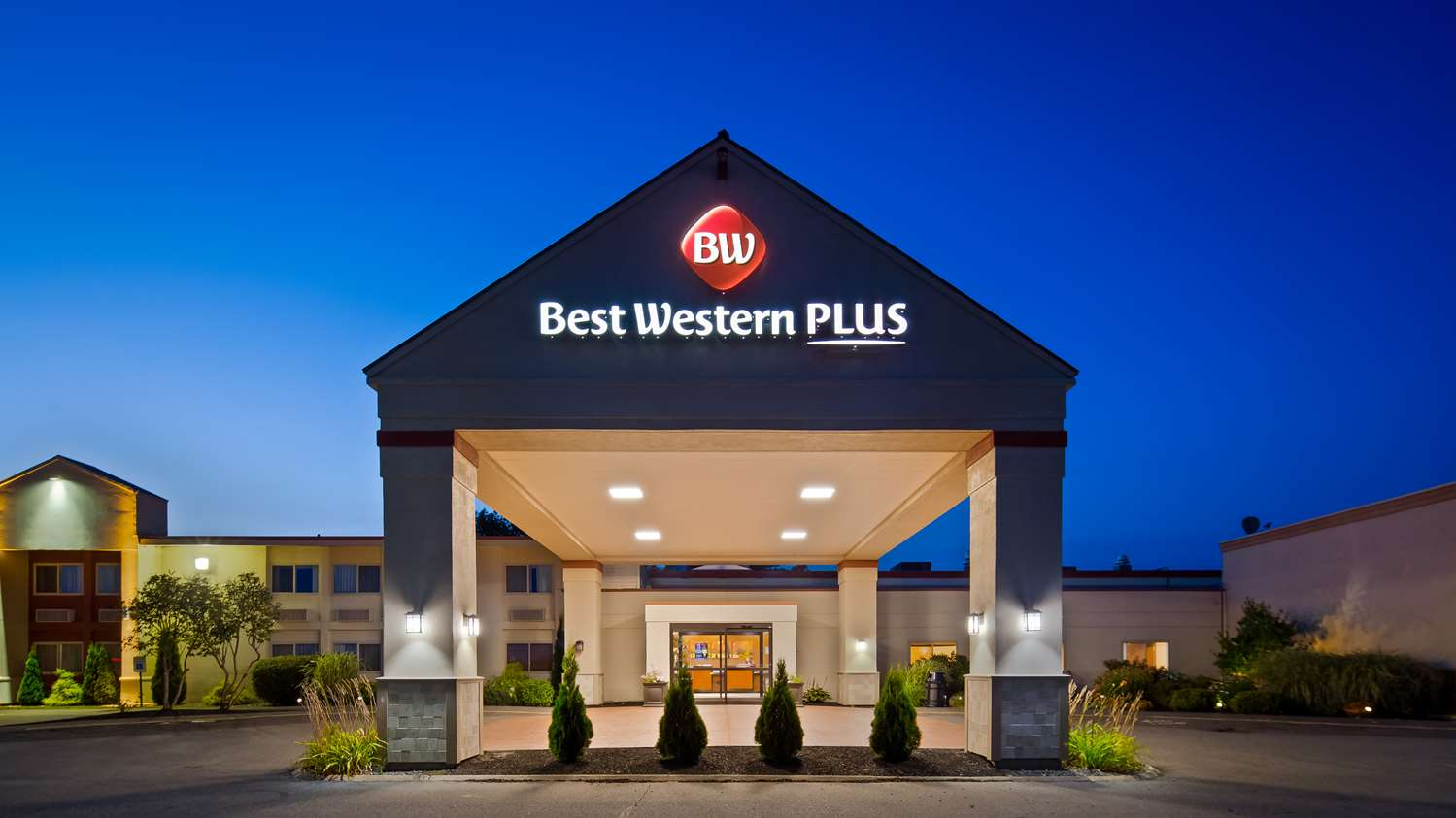 Exterior view - Best Western Plus Augusta Civic Center Inn