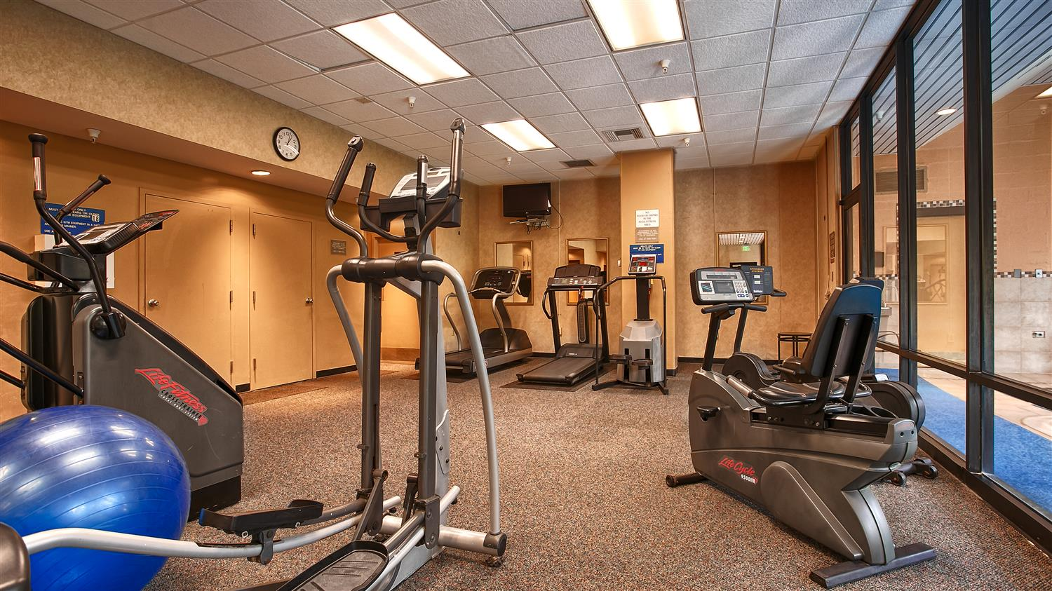 Fitness/ Exercise Room - Best Western Plus Hotel & Conference Center