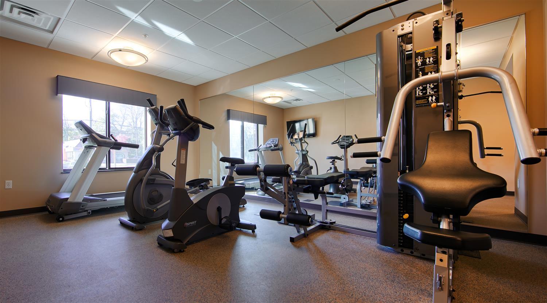 Fitness/ Exercise Room - Best Western Plus College Park Inn
