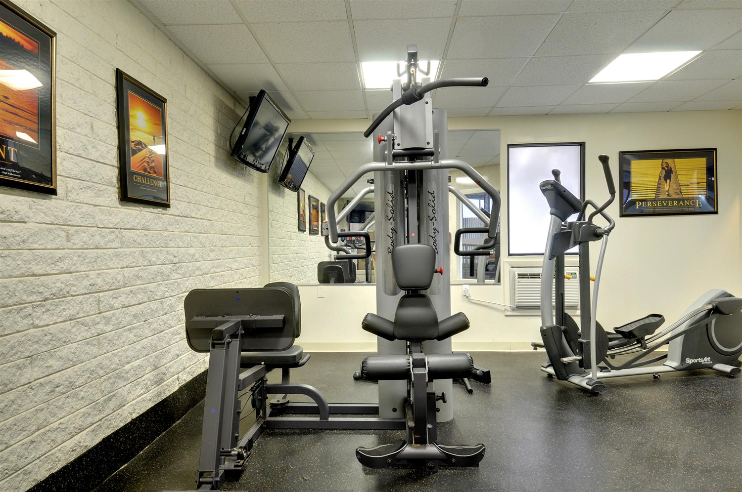 Fitness/ Exercise Room - Best Western Plus Waltham Boston Hotel