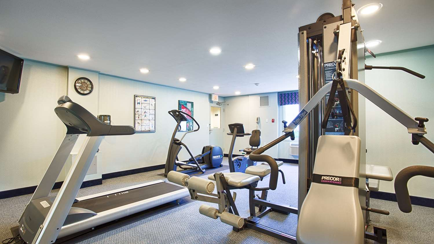 Fitness/ Exercise Room - Best Western at Historic Concord