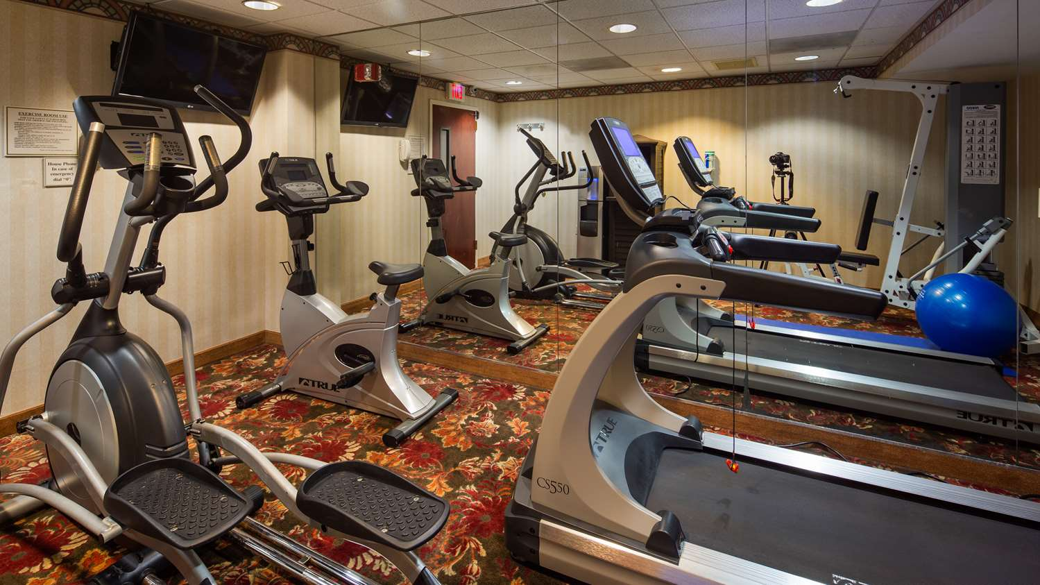 Fitness/ Exercise Room - Best Western Plus Roundhouse Suites Boston