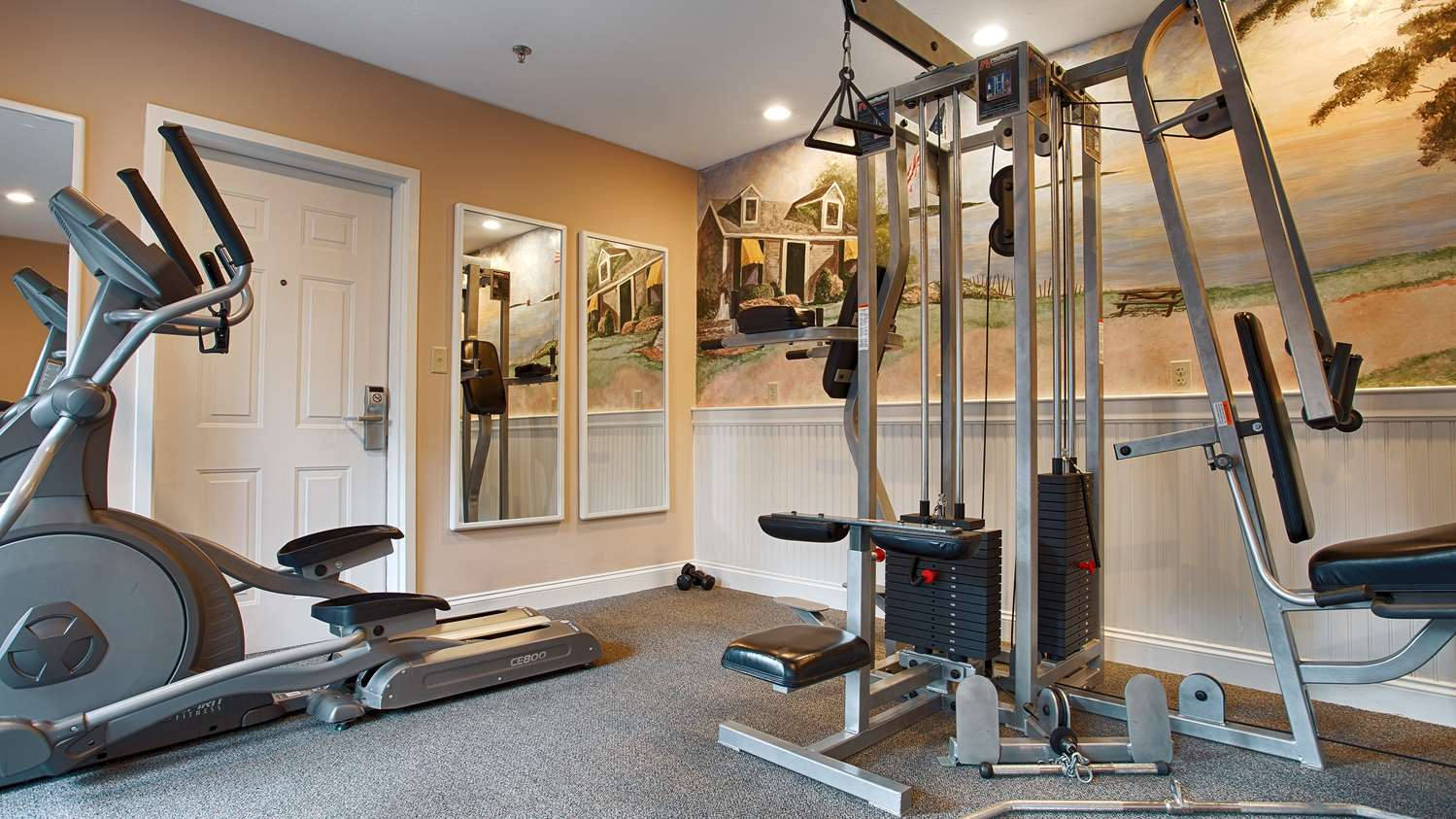 Fitness/ Exercise Room - Best Western Plus Inn Cold Spring Plymouth