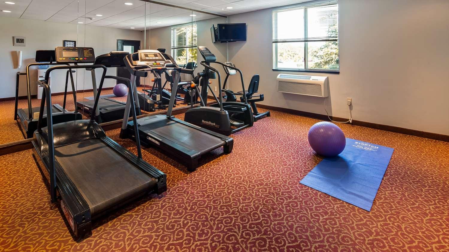 Fitness/ Exercise Room - Best Western Dartmouth Inn