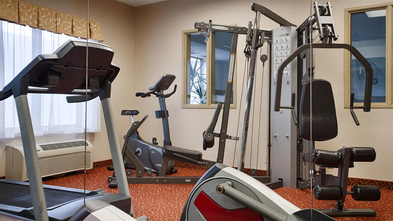 Fitness/ Exercise Room - Best Western Providence Seekonk Inn