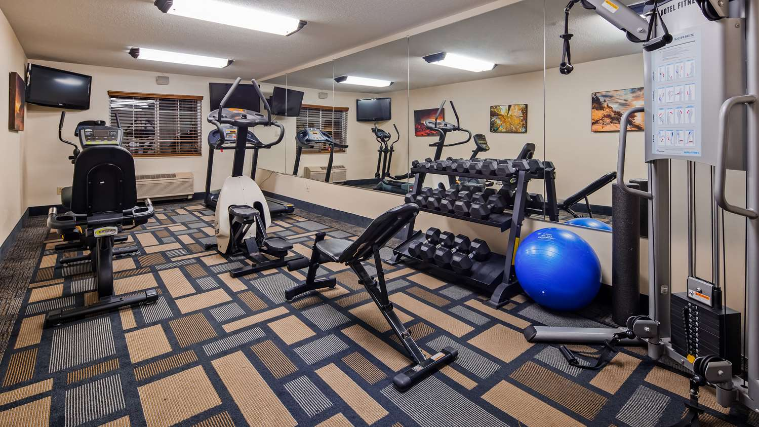 Fitness/ Exercise Room - Best Western Berkshire Hills Inn & Suites Pittsfield