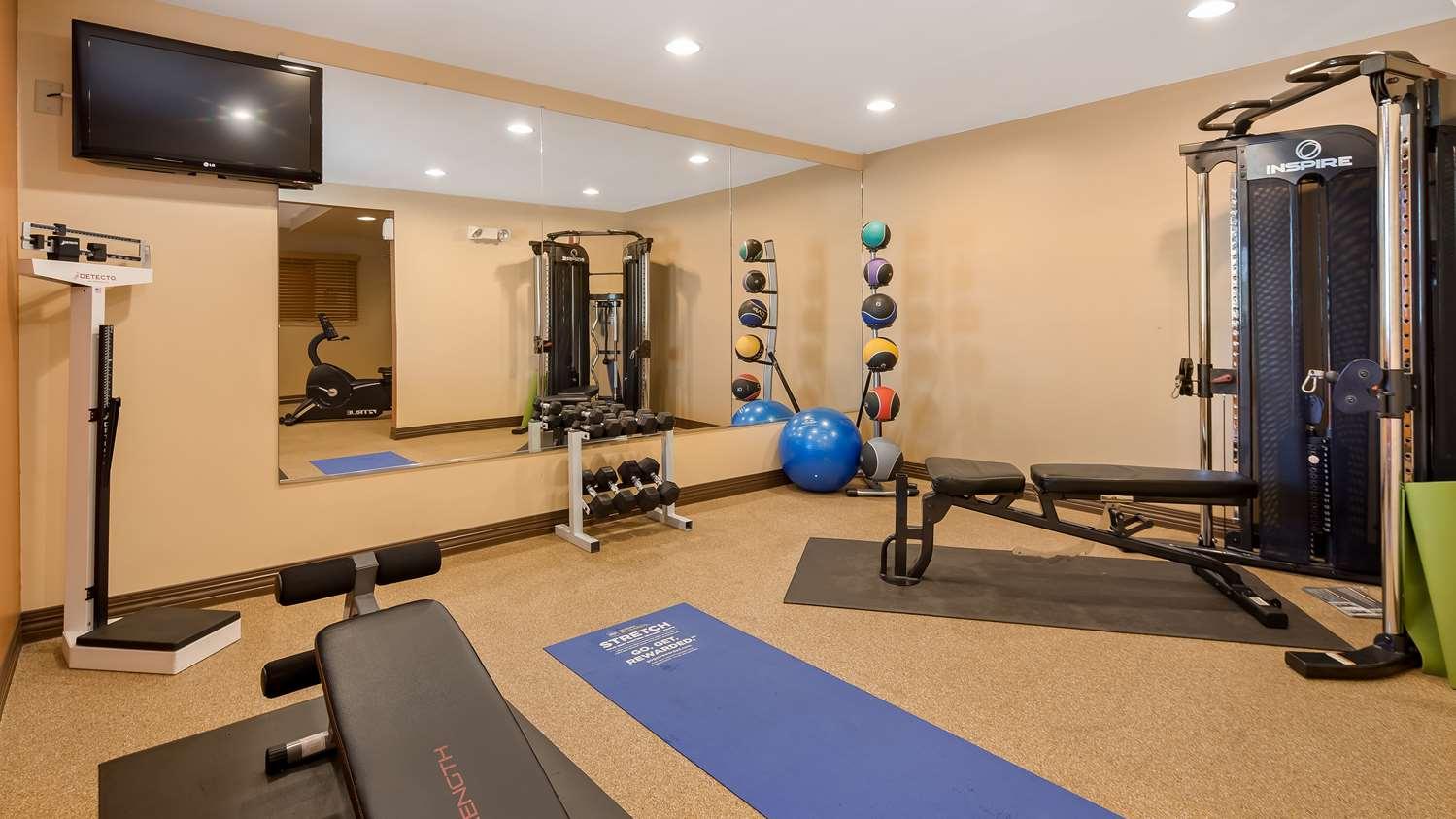 Fitness/ Exercise Room - Best Western Plus Sharon Inn