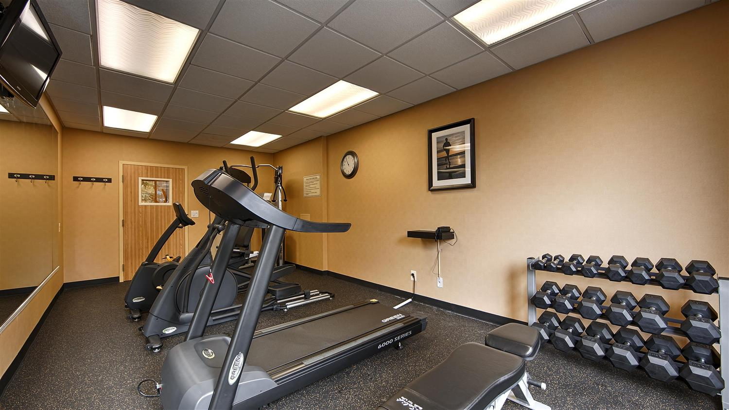 Fitness/ Exercise Room - Best Western Springfield West Inn