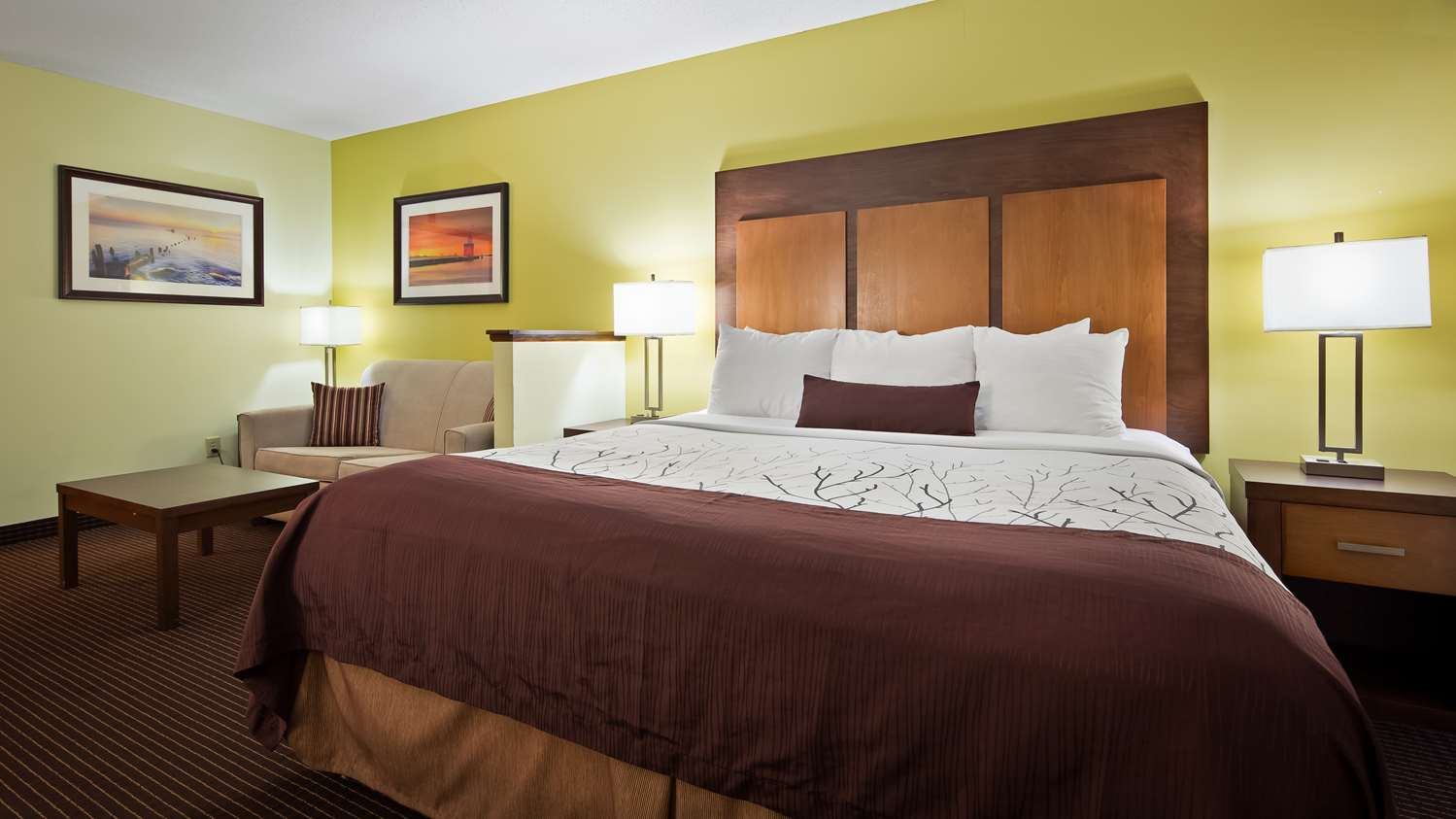 Room - Best Western Plus Holland Inn & Suites