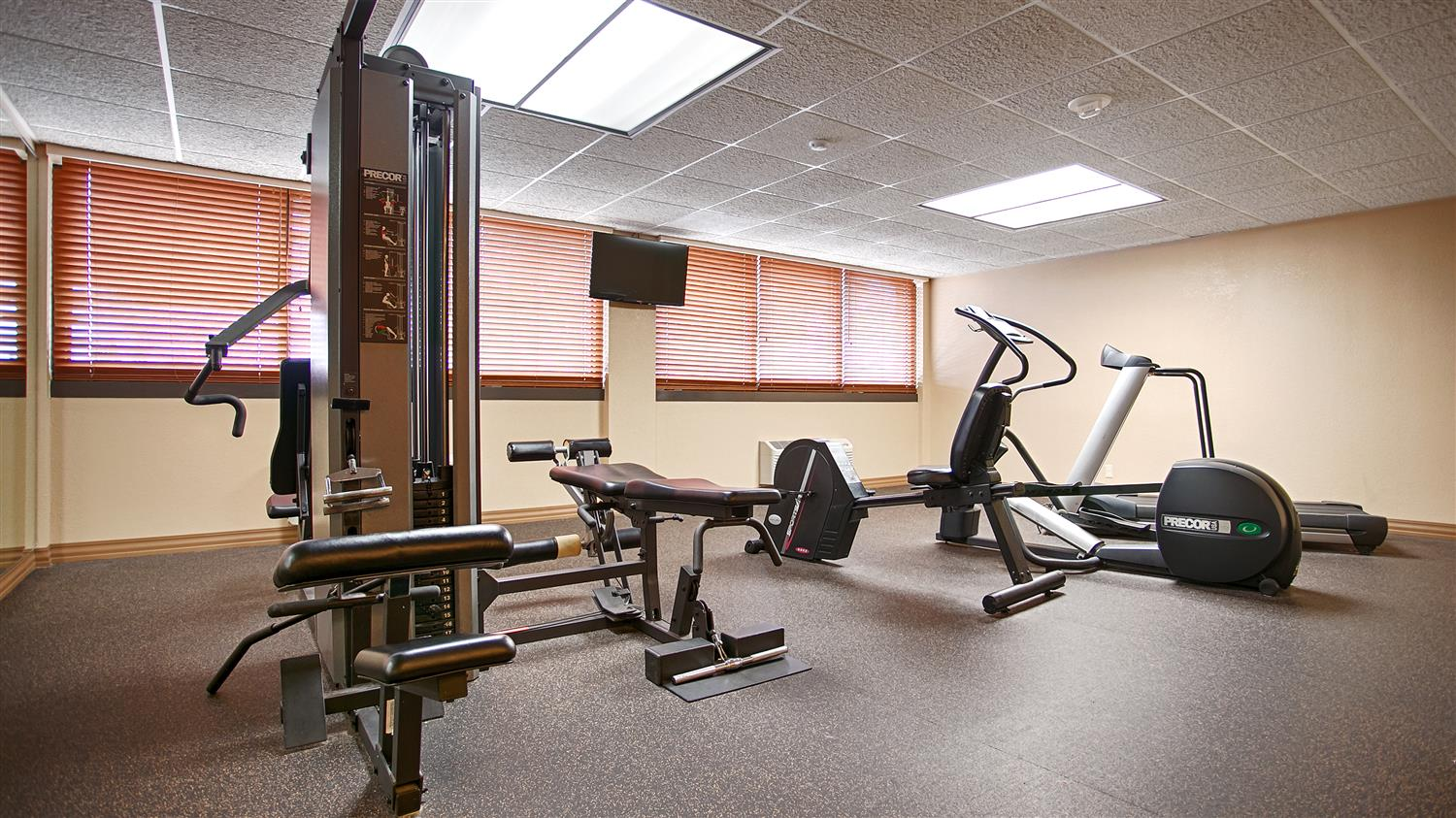 Fitness/ Exercise Room - Best Western Plus Capitol Ridge Hotel St Paul