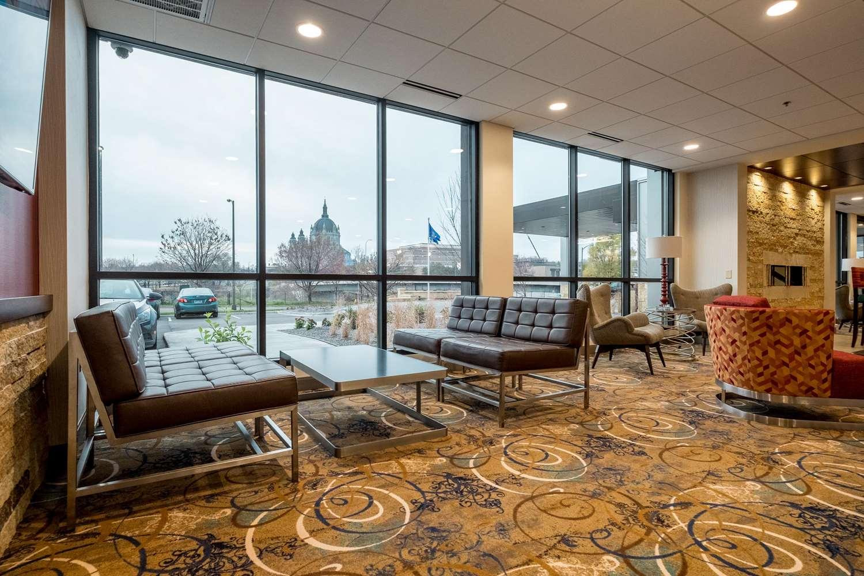 Lobby - Best Western Plus Capitol Ridge Hotel St Paul