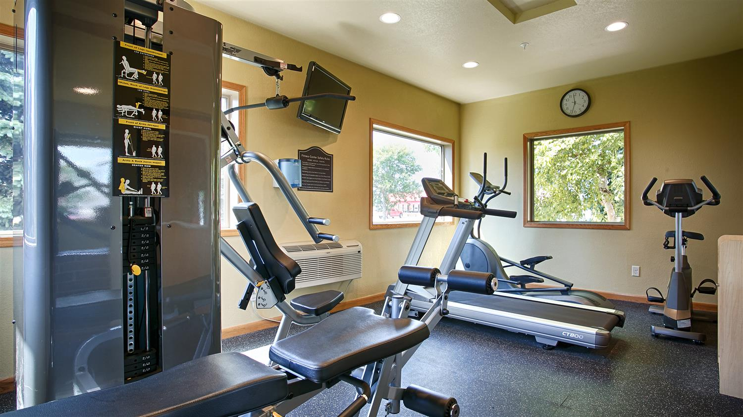 Fitness/ Exercise Room - Best Western Alexandria Inn