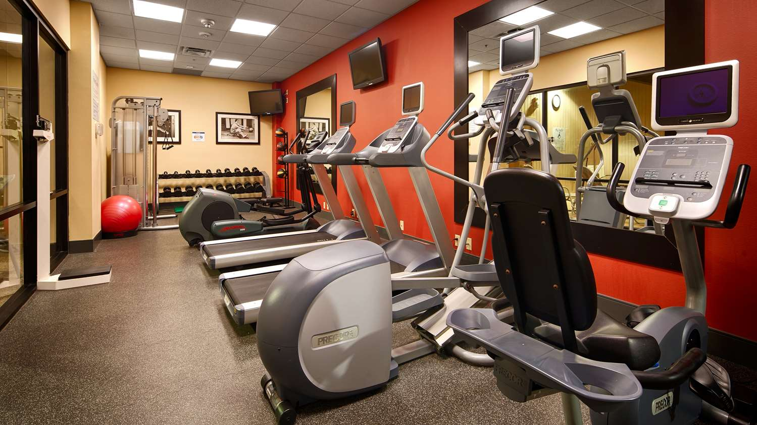 Fitness/ Exercise Room - Best Western Plus Hotel Shoreview