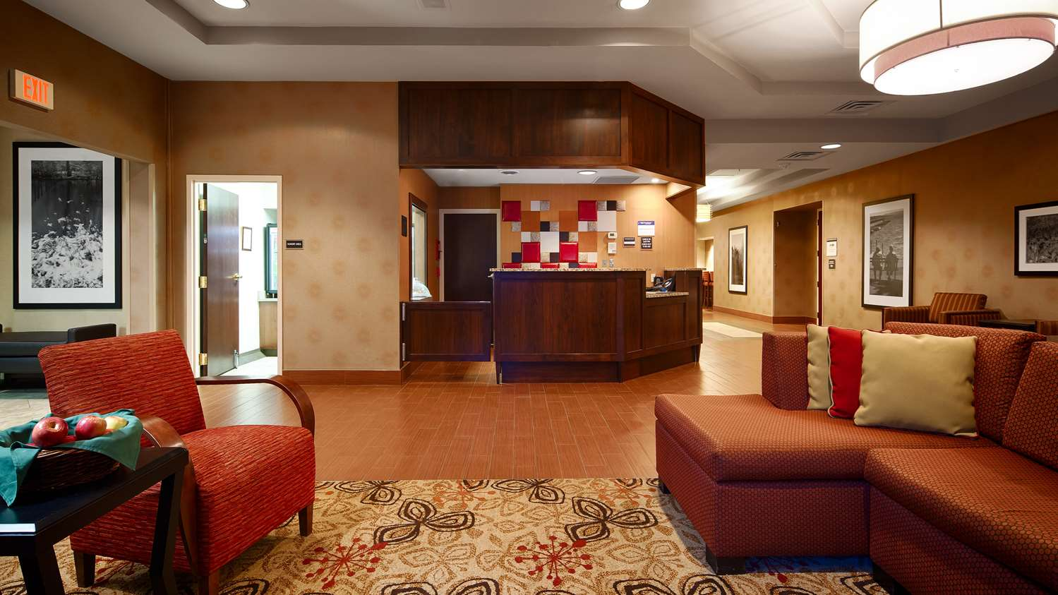Lobby - Best Western Plus Hotel Shoreview