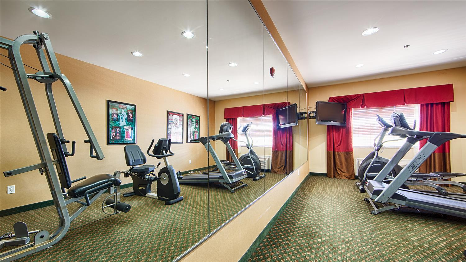 Fitness/ Exercise Room - Best Western Plus Olive Branch Hotel & Suites