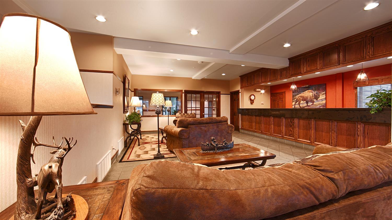 Lobby - Best Western Desert Inn West Yellowstone