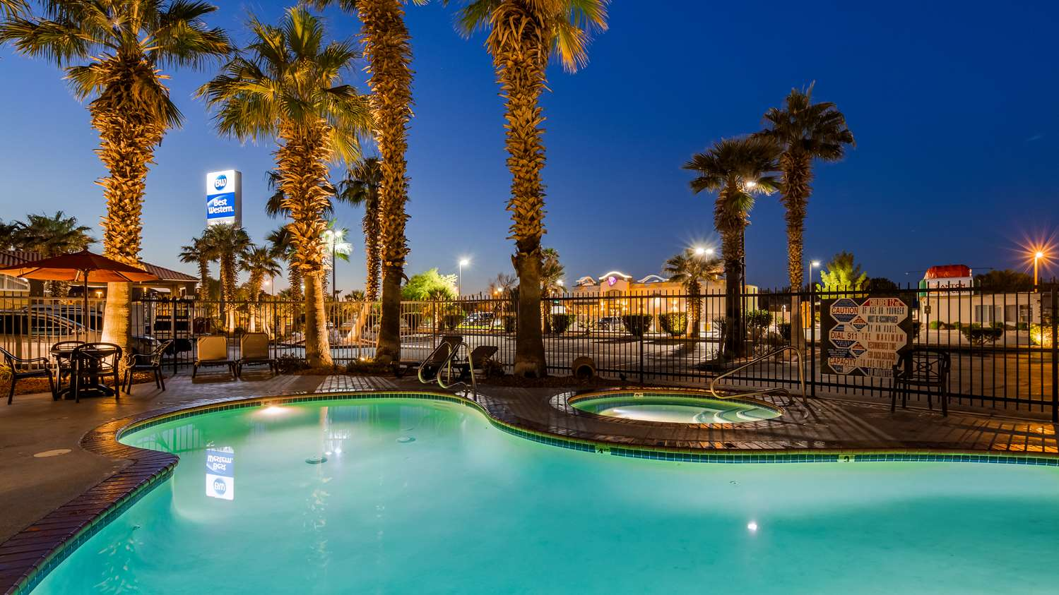 Pool - Best Western Mesquite Inn