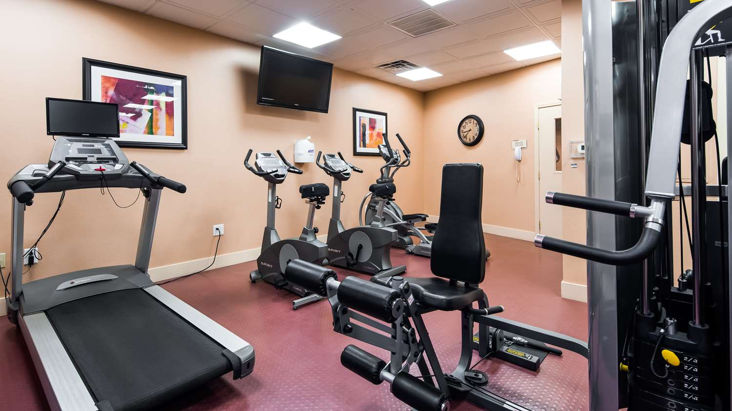 Fitness/ Exercise Room - Best Western Plus Casino Royale Inn Las Vegas