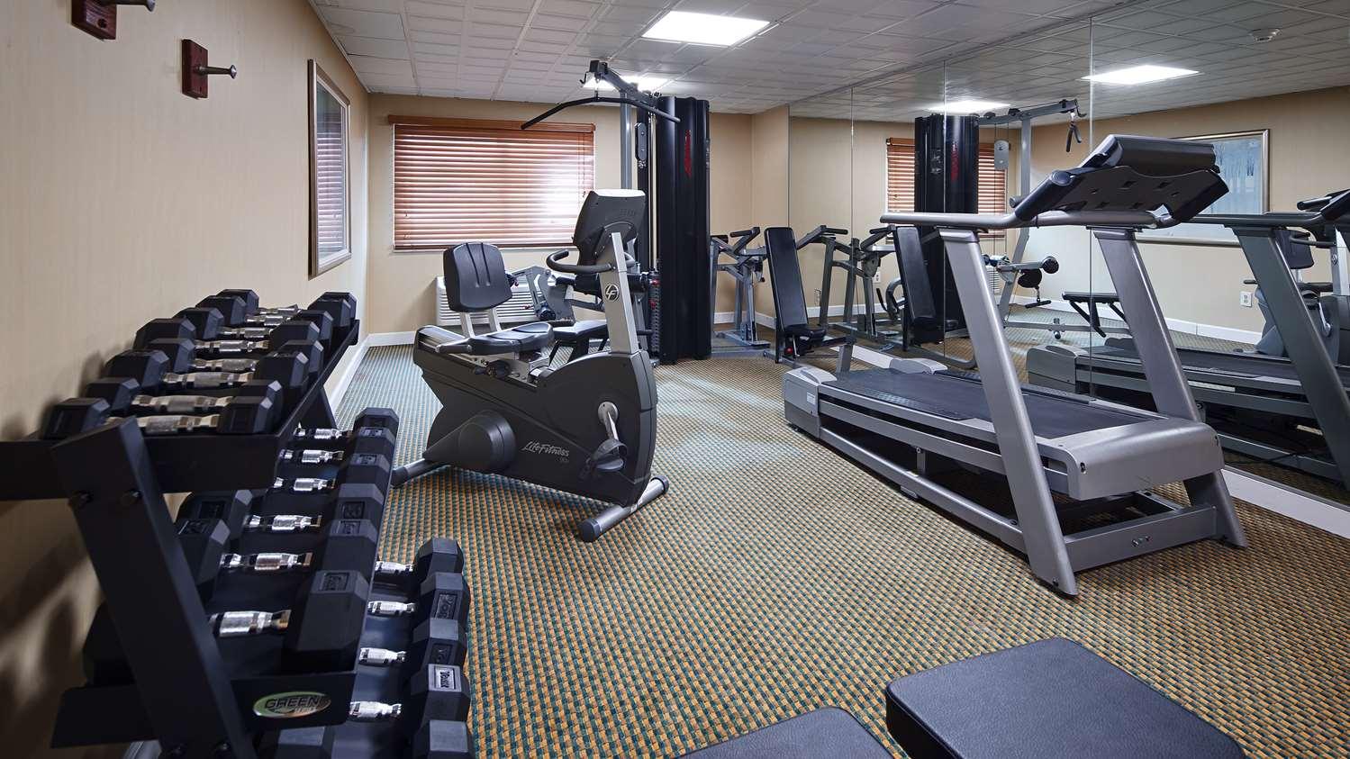 Fitness/ Exercise Room - Best Western Inn Mt Holly