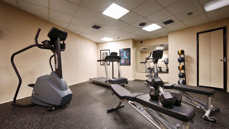 Fitness/ Exercise Room - Best Western Bordentown Inn
