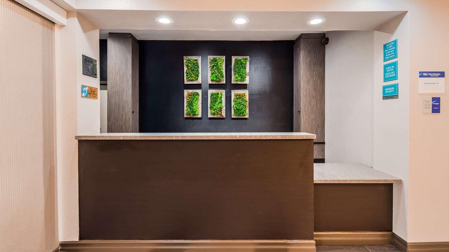Lobby - Best Western Inn at Ramsey