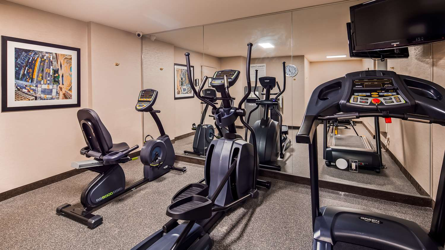 Fitness/ Exercise Room - Best Western Inn at Ramsey